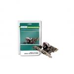 Scheda pci-e 2 porte seriali 9 pin vektor se-02
