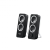 Speakers logitech z200 2.0 10w 2 canali reg.vol. nere