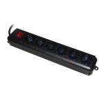 Multipresa 6 prese ita/schuko in linea link con interruttore