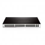 D-Link DGS-1210-52 Gestito L2 1U Nero switch di rete