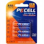 Batteria mini stilo aaa alcalina blister 4 pz. pkcell