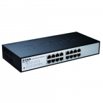 D-Link DES-1100-16 Gestito L2 Nero switch di rete