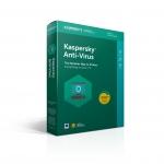 Kaspersky antivirus 2020/2021 3 pc licenza 1 anno box ita