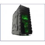 Case gammec x-machine usb3.0 3 ventole da 12cm con luce verde