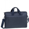 "Borsa per notebook a tracolla 15,6"" colore blu scuro rivacase"