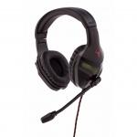 iTek Taurus H300 Stereofonico Padiglione auricolare Nero cuffia e auricolare