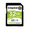 Secure digital 32gb c10 uhs-i u1 kingston canvas select sds/32gb