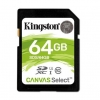 Secure digital 64gb c10 uhs-i u1 kingston canvas select sds/64gb