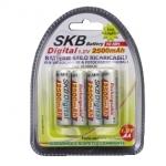 "Batterie ricaricabili stilo ""aa"" 2500mah conf. 4pz (38195055)"