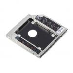"""Frame per montaggio hd/ssd 2,5"""" in slot dvdrw slim 9,5mm sata"""