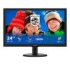 Monitor philips led 23,6' bk 250cd/m vga dvi-d hdmi 1ms vesa