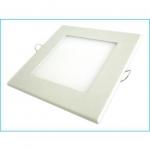 pannello a led 12w quadrato cornice bianca (as-panel12w-q)