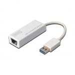 Convertitore da usb 3.0 a rete rj45 gigabit 10/100/1000 digitus