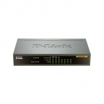 D-Link DES-1008PA No gestito Fast Ethernet (10/100) Supporto Power over Ethernet (PoE) Nero switch di rete
