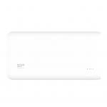 Power bank 20000mah silicon power s200 bianco 2p usb (2.1a e 1a)