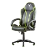 Itek gaming chair taurus p4 -  pelle sintetica pu, nero verde