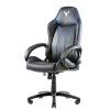 Itek gaming chair taurus p4 -  pelle sintetica pu, nero blu