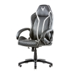 Itek gaming chair taurus p4 -  pelle sintetica pu, nero bianco