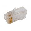 Plug di rete rj45 utp cat.5e per cavo rigido pl819
