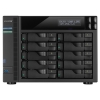 "nas asustor as-7010t 10xsata 3,5"" i3-4330,so-dimm 2gb ddr3,gbex2,usb 3.0 hdmi, infrared rec.(as7010t)"