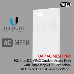 Access point ubiquiti unifi uap-ac-m-pro mesh da esterno poe