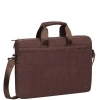 "Borsa notebook 15,6"" colore marrone rivacase"