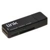 Lettore card usb 3.0 mini link lettura simultanea 4 schede