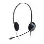Cuffie o200 - microfono regolabile, controllo volume, 2x3.5mm plug