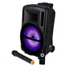 Cassa audio amplificato hps b10 500 watt con radiomicrofono