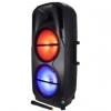 Cassa audio amplificato hps b212 1000 watt con radiomicrofono
