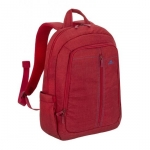 """Zaino per notebook 15"""" colore rosso rivacase"""