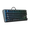 Cm tastiera meccanica masterkeys ck530 / rgb / gateron red switch