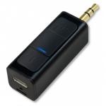 Mini ricevitore stereo bluetooth per dispositivi con connettore jack 3,5mm
