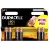 Batterie stilo aa duracell alcaline conf. 6pz