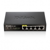 D-Link DES-1005P No gestito Supporto Power over Ethernet (PoE) Nero switch di rete