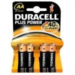 Batterie duracell plus alcaline stilo aa lr6 conf. 4pz
