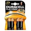 Batterie stilo aa duracell plus alcaline conf. 4pz
