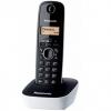 Telefono cordless dect panasonic kx-tg1611 nero/bianco
