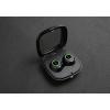 Auricolari  bluetooth freeplay bt con batterie ricaricabili nero