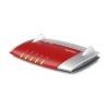 AVM FRITZ!Box 4040 Dual-band (2.4 GHz/5 GHz) Gigabit Ethernet Rosso, Argento