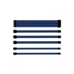 Cooler master cavo sleevato  blue & black