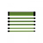 Cooler master cavo sleevato  green & black