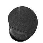 Mouse pad gel con poggia polso nero (mp-gel-black)