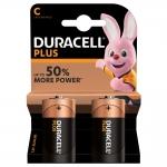 Batterie duracell plus alcaline mezza torcia c lr14 conf. 2pz