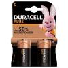 Batterie lr14 b2 plus alcaline 1.5v duracell 2pz.