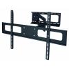 Staffa tv a muro 3 snodi a pantografo max 50kg vesa fino 800*500