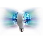 illuminatore clb2 led doppia sfera rotante