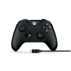 Gamepad joypad wireless nero per xbox one + cavo per pc windows