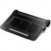 """Cooler Master NotePal U3 Plus 19"""" 1800Giri/min Nero base di raffreddamento per notebook"""
