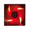 Ventolina case supplementare itek xtreme flow 120mm led rossi